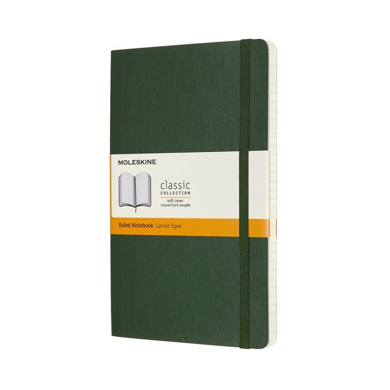 MOLESKINE taccuino Classic, large, copertina rigida verde