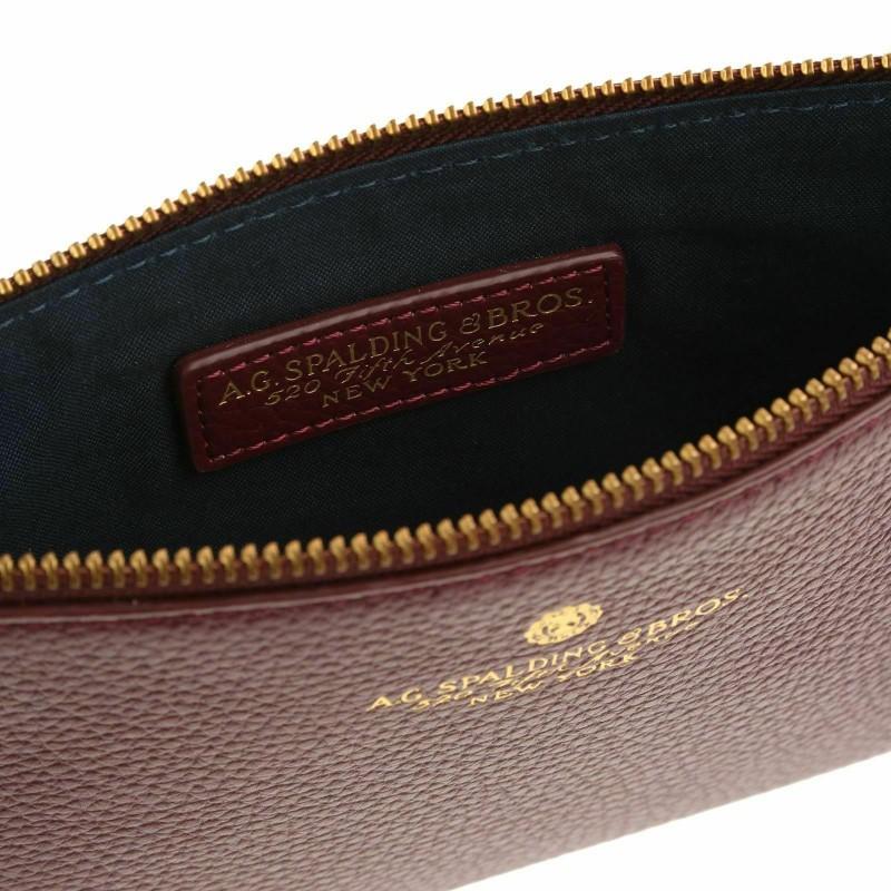 AG SPALDING & BROS Tiffany pochette a mano con polsiera, pelle