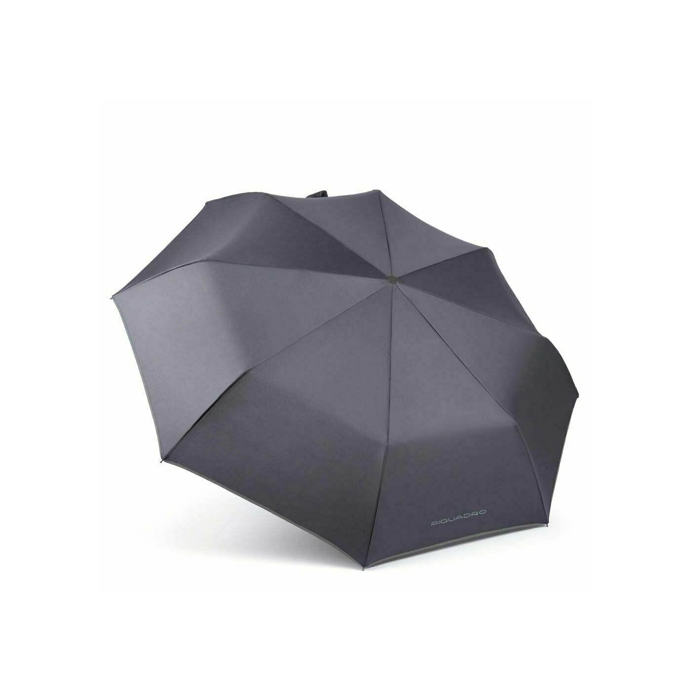 PIQUADRO Stationery ombrello open close automatico manico pelle