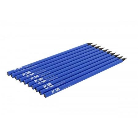 NAVA DESIGN matita in legno a taglio vivo, blu cobalto