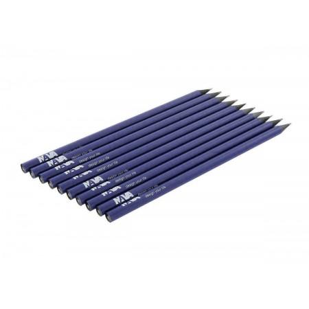 NAVA DESIGN matita in legno a taglio vivo, blu notte