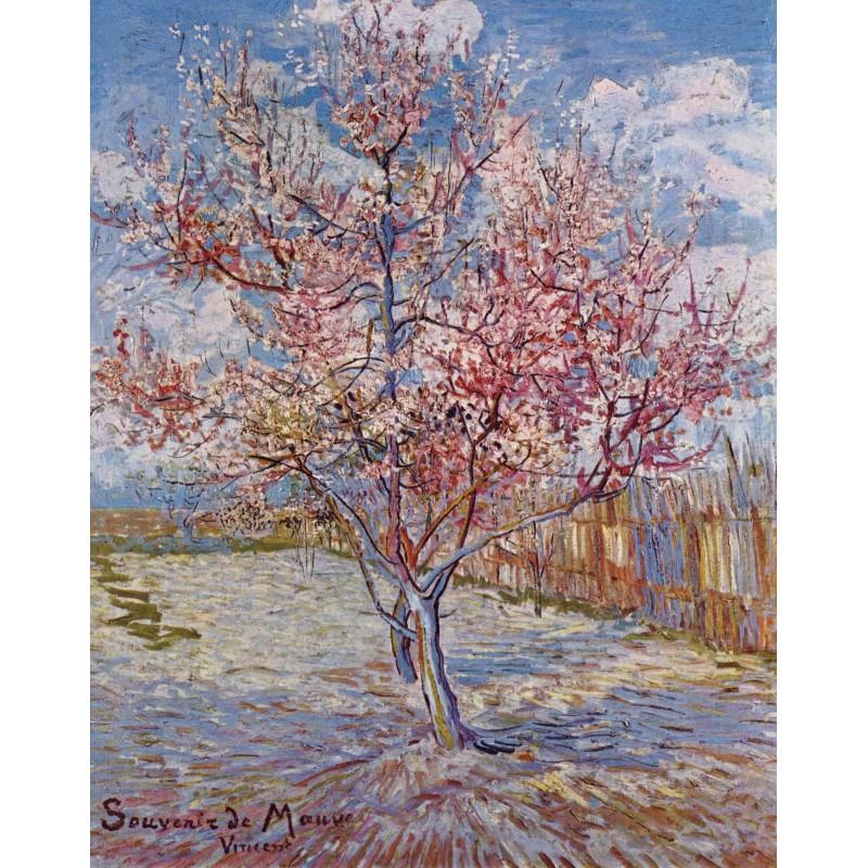 VISCONTI Van Gogh Souvenir De Mauve penna roller, resina rosa