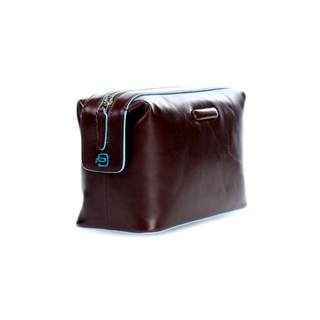 PIQUADRO Blue Square necessaire da viaggio, beauty, in pelle