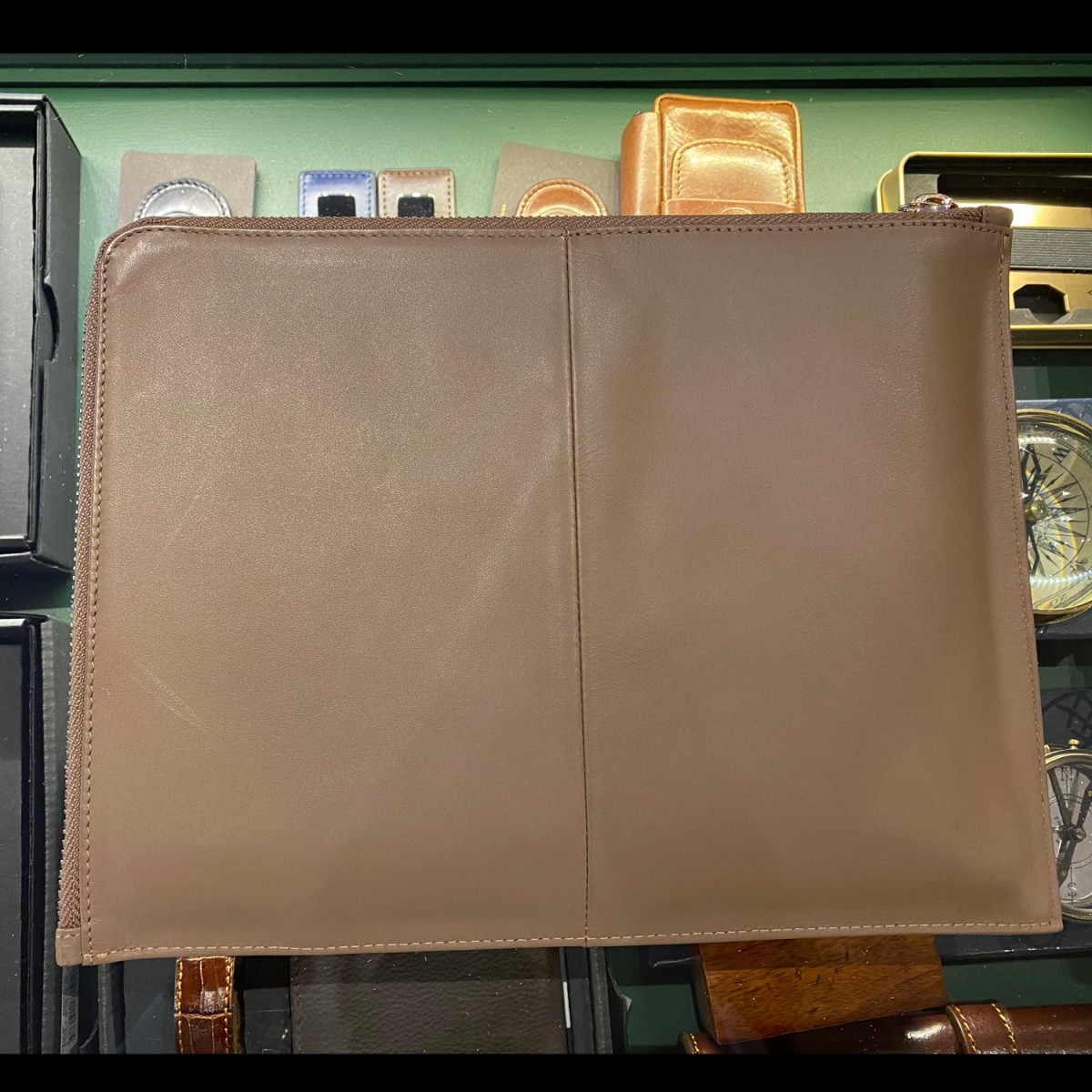 HUGO BOSS Verse custodia iPad, porta documenti A5, ricettario