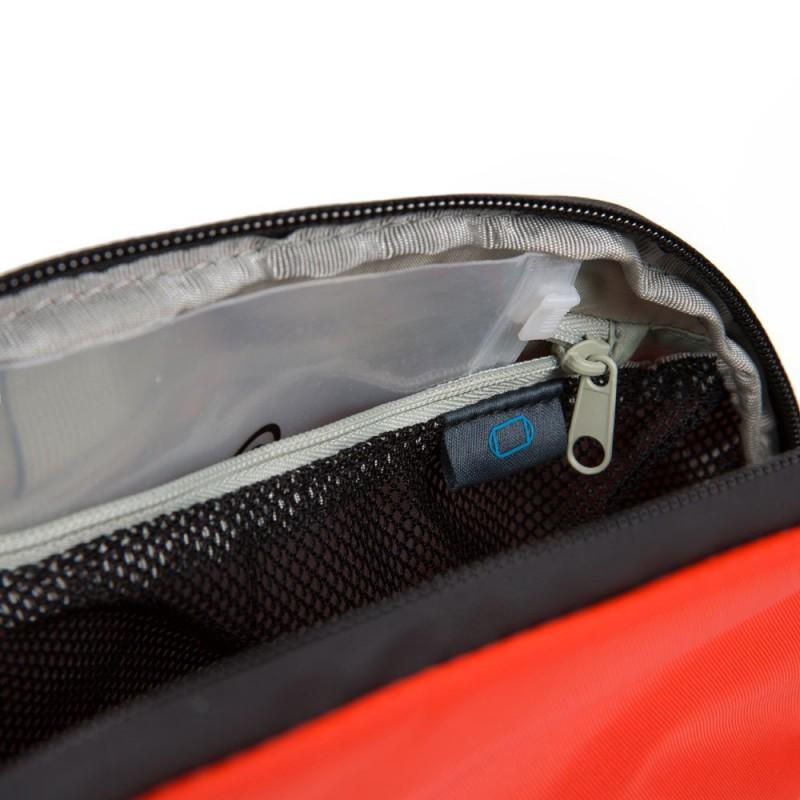 PIQUADRO PQ-M Modular beauty da viaggio, tessuto riciclato