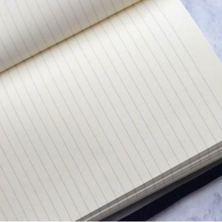 STIFFLEXIBLE taccuino righe, copertina flessibile, 9x14 cm, Bang