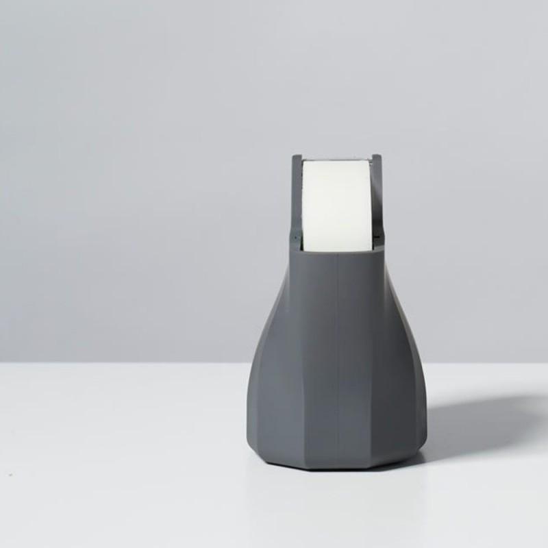 LEXON Babylon tape dispenser porta nastro adesivo, silicone nero