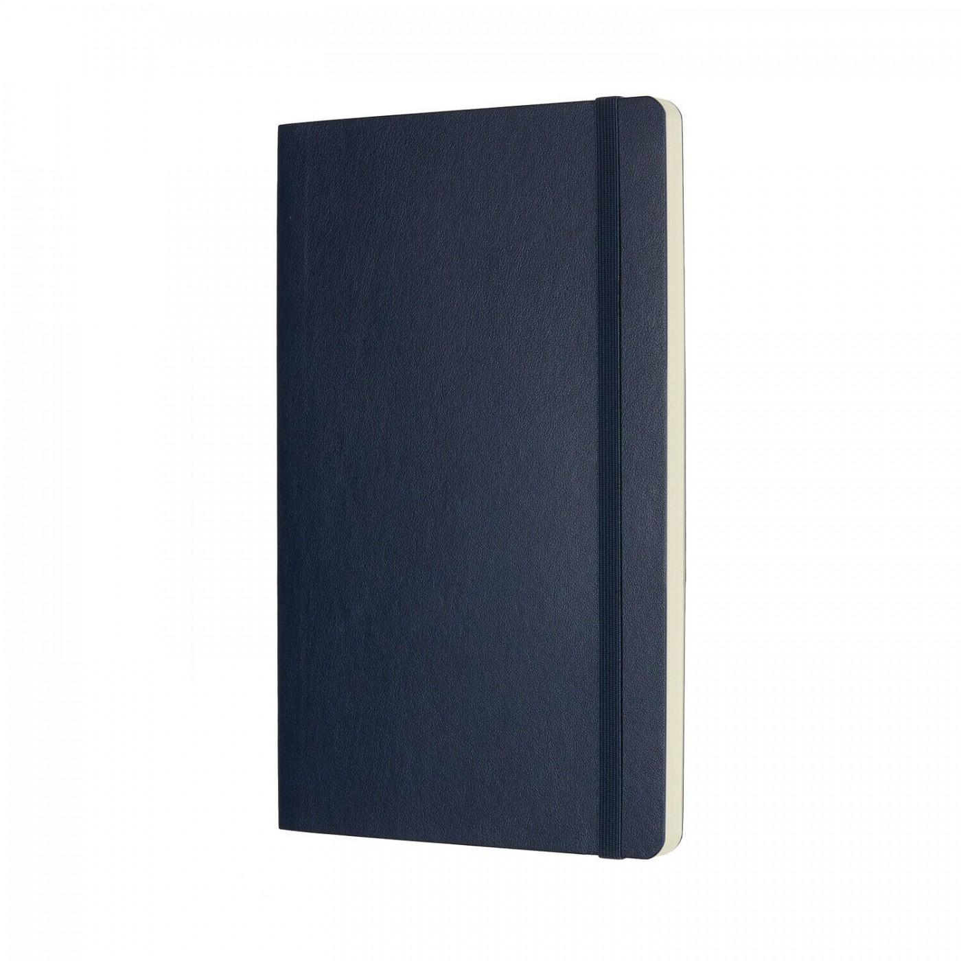 MOLESKINE taccuino Classic, large, copertina morbida blu
