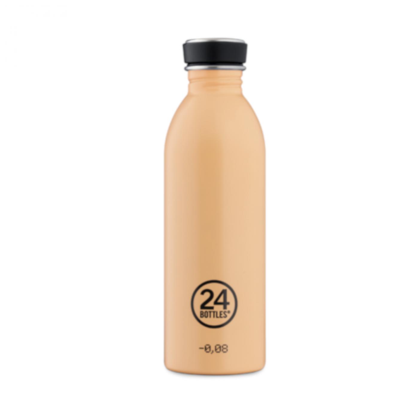 24 BOTTLES Urban Peach Orange, bottiglia in acciaio inox, 500 ml