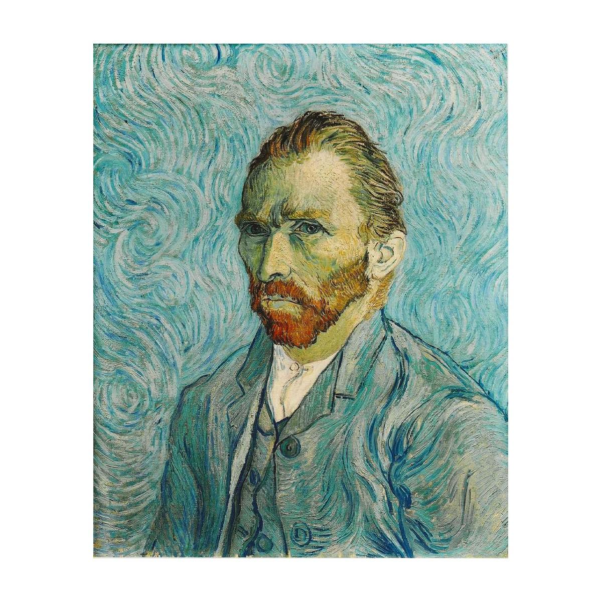 VISCONTI Van Gogh Portrait penna roller, resina azzurro