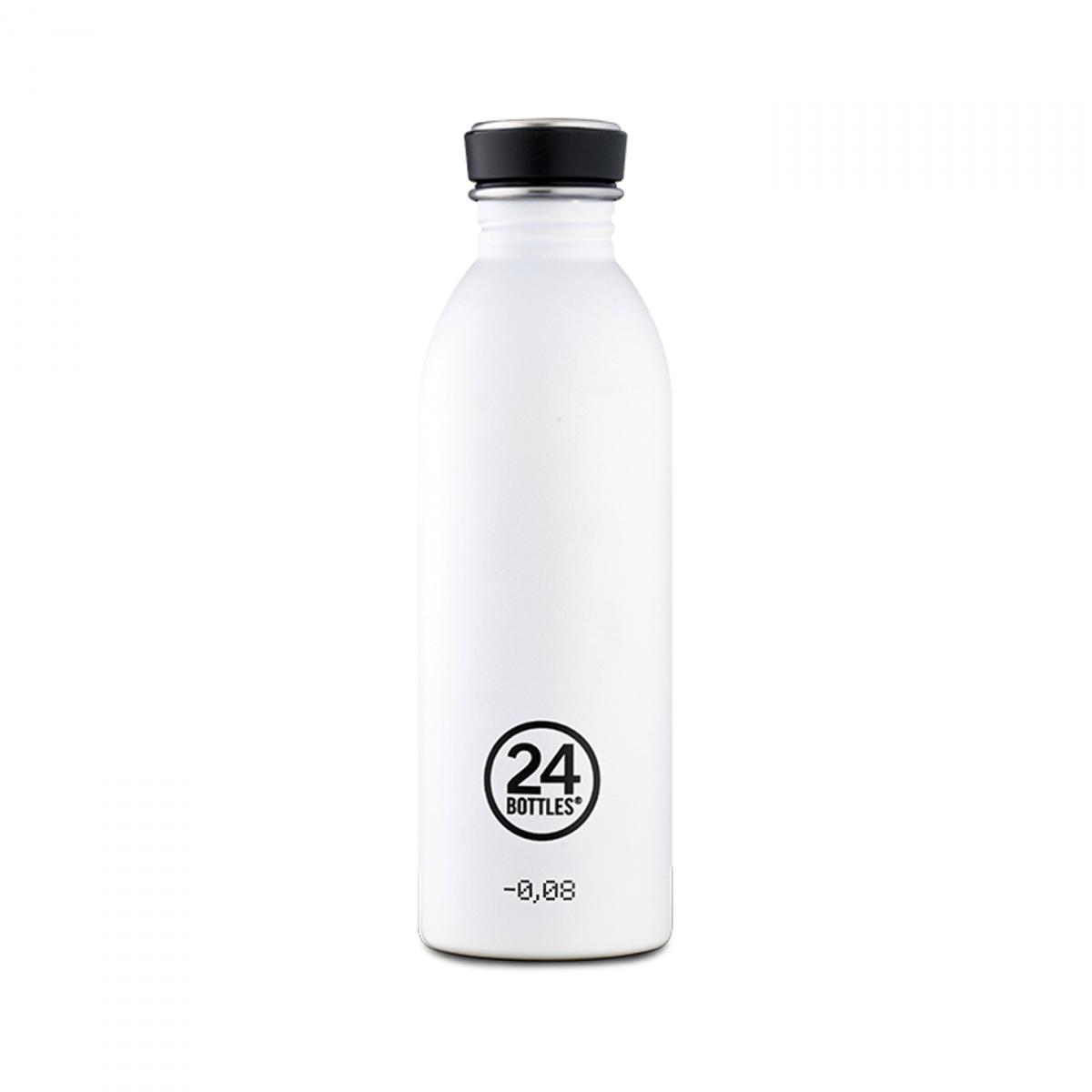 24 BOTTLES Urban Ice White, bottiglia in acciaio inox, 500 ml