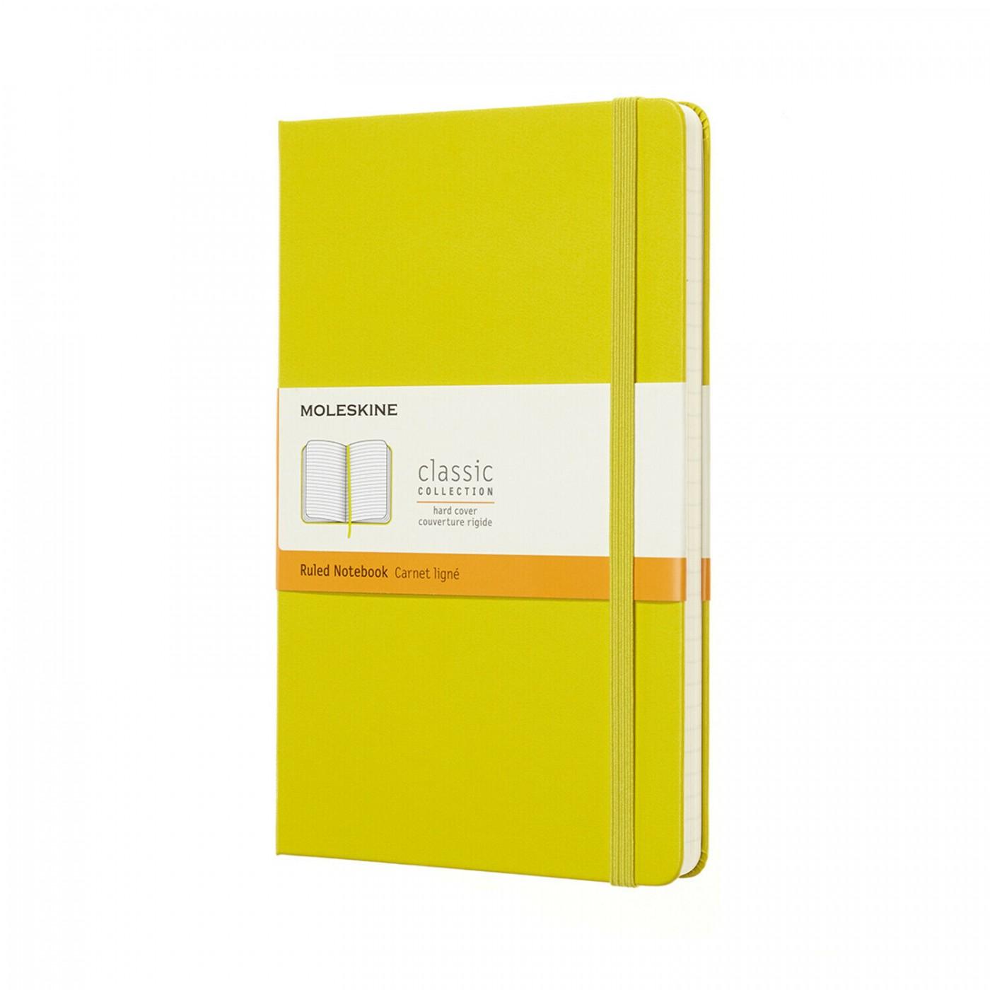 MOLESKINE taccuino Classic, large, copertina rigida giallo
