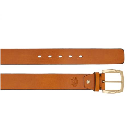 THE BRIDGE Brunelleschi cintura, pelle cuoio cognac, fibbia