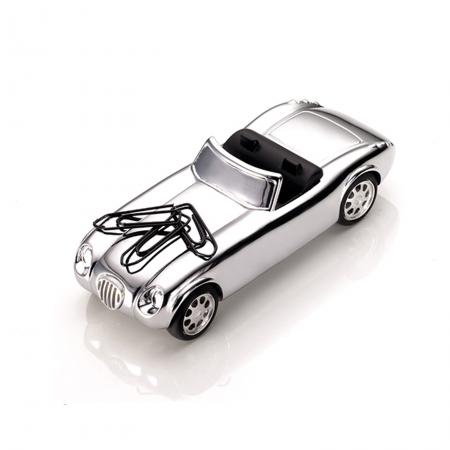 TROIKA ferma carte e porta graffette magnetico auto spider